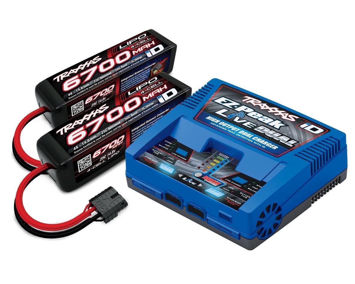 Traxxas EZ-Peak Live 4S + 2x 4S 14.8V 6700mAh 25C Completer Pack