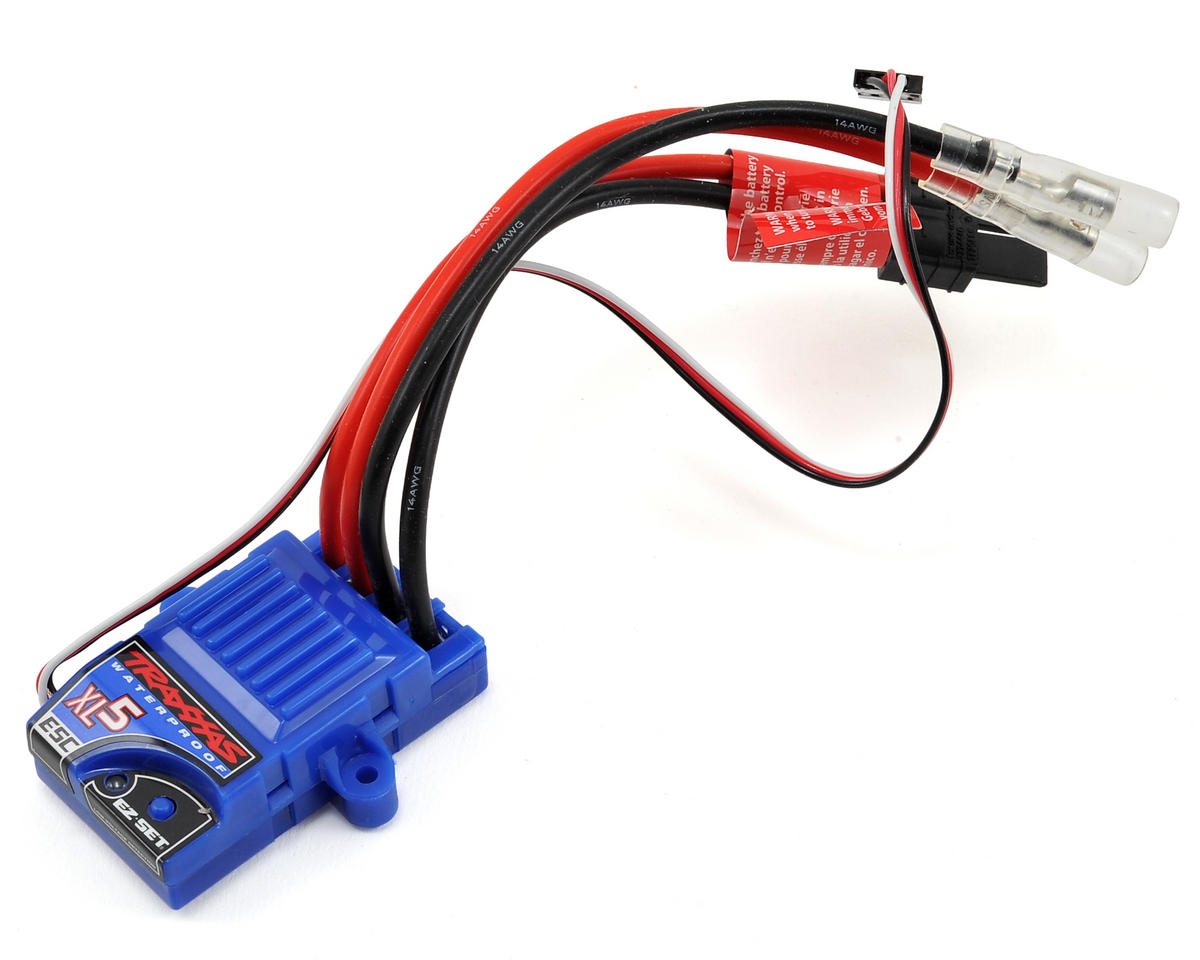 Traxxas Rustler XL-5 Waterproof ESC w/Low Voltage Detection