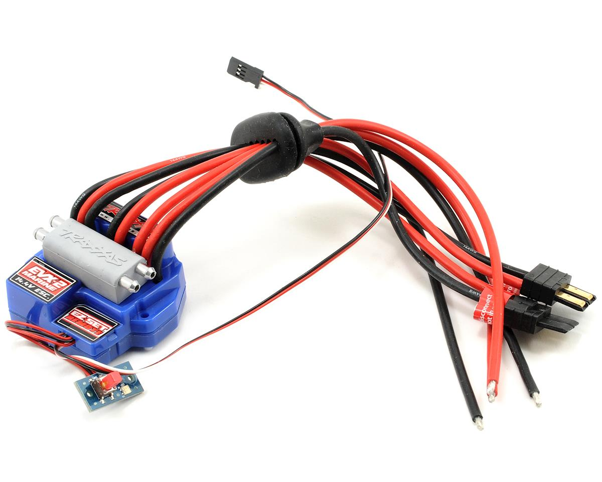 Traxxas EVX-2 Marine Brushed Motor Electronic Speed Control
