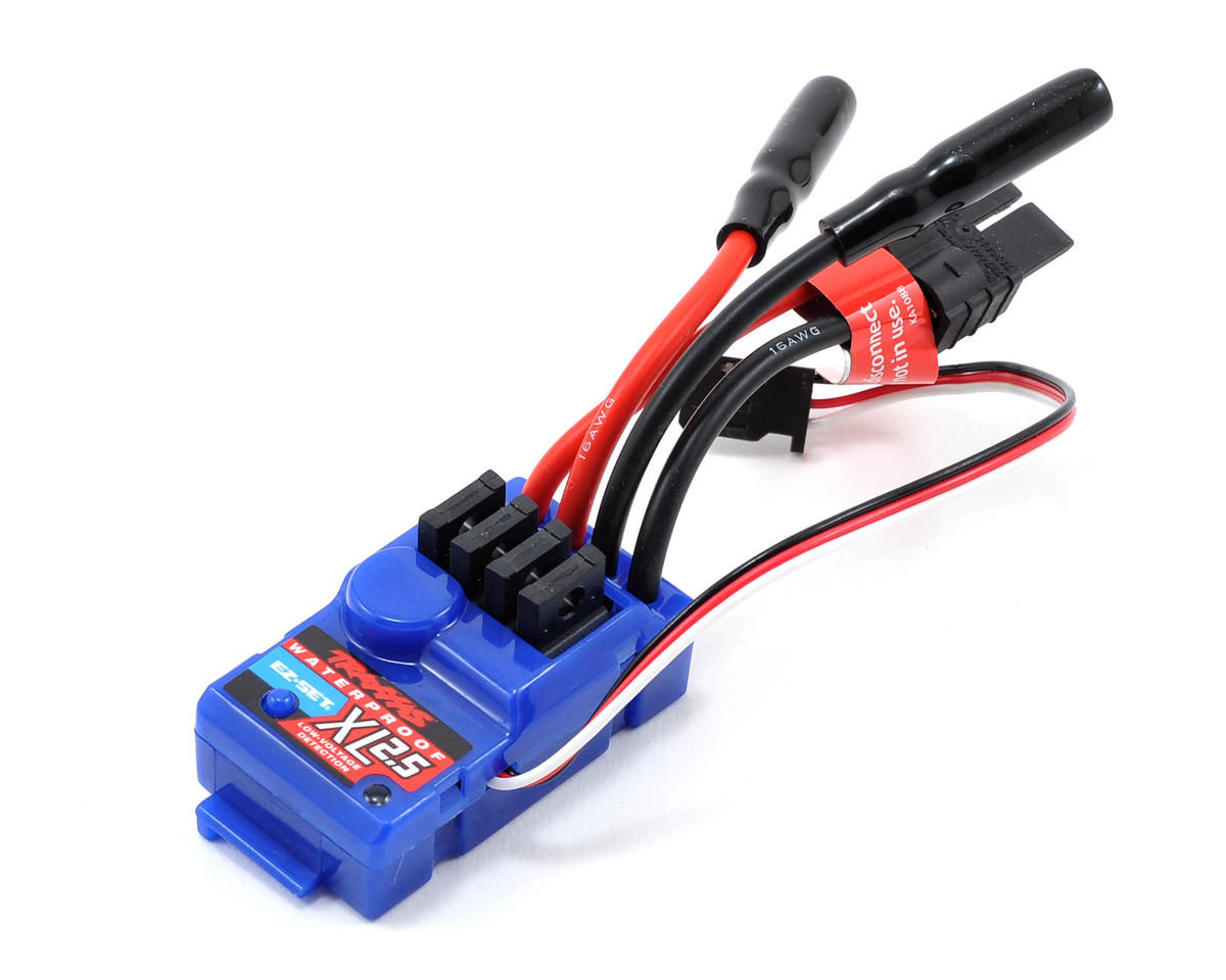 Traxxas 1/16 Grave Digger XL-2.5 ESC w/Low Voltage Detection (Waterproof)