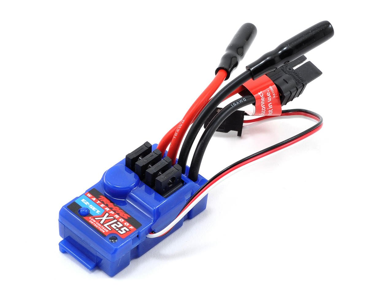 XL-2.5 ESC w/Low Voltage Detection (Waterproof) by Traxxas