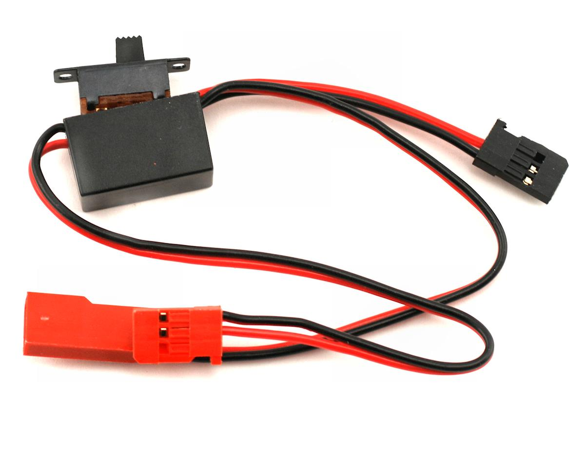 Traxxas RX Power Pack Wiring Harness (Revo) includes on/off switch on ml king, ms king, ti king,