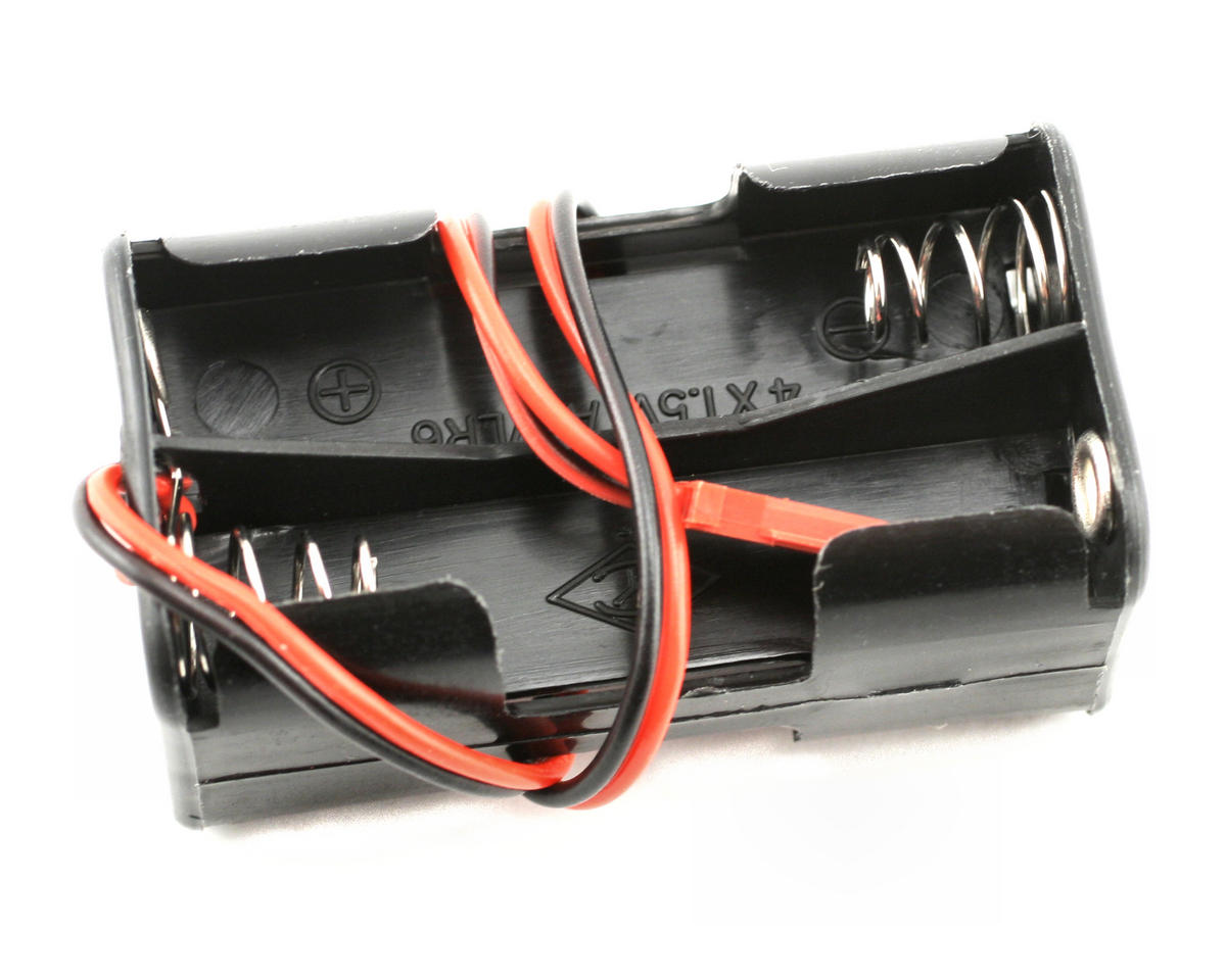 4-Cell Battery Holder Assembly (Futaba Connector) by Traxxas