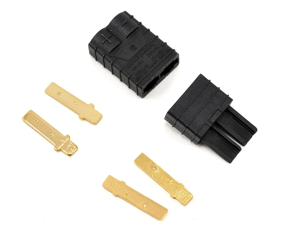 Traxxas Rustler High Current Connector Set (Male/Female)
