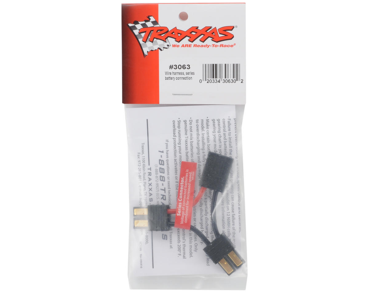 Traxxas Series Battery Wire Harness