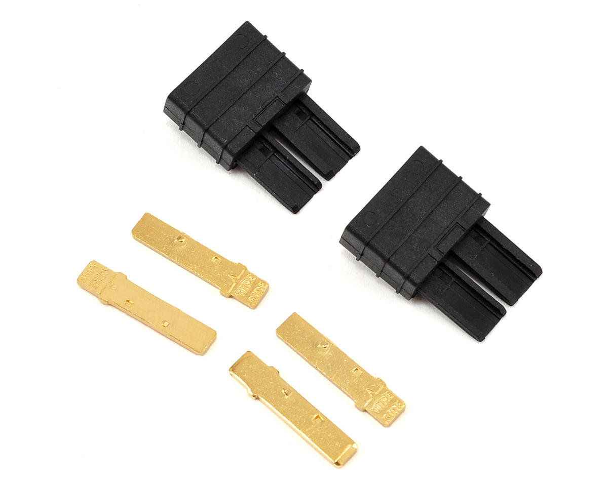 Traxxas 1/16 Mustang High Current Connector Set (2) (Male)