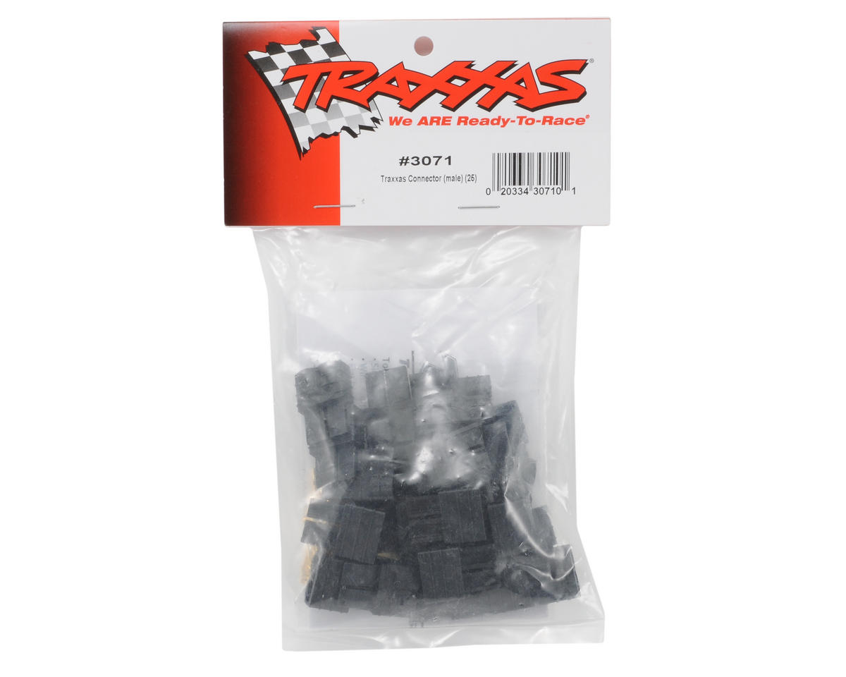 Traxxas Male Connector Bulk Pack (25)