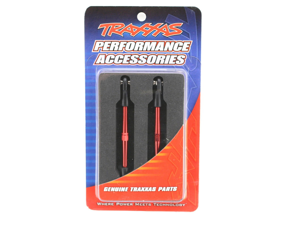 59mm Aluminum Turnbuckle Toe Link (Red) (2) by Traxxas