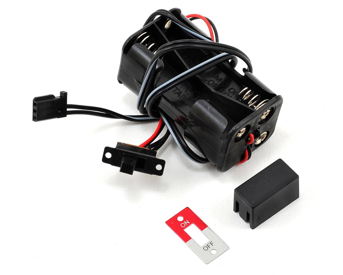 4-Cell Battery Holder w/Switch by Traxxas