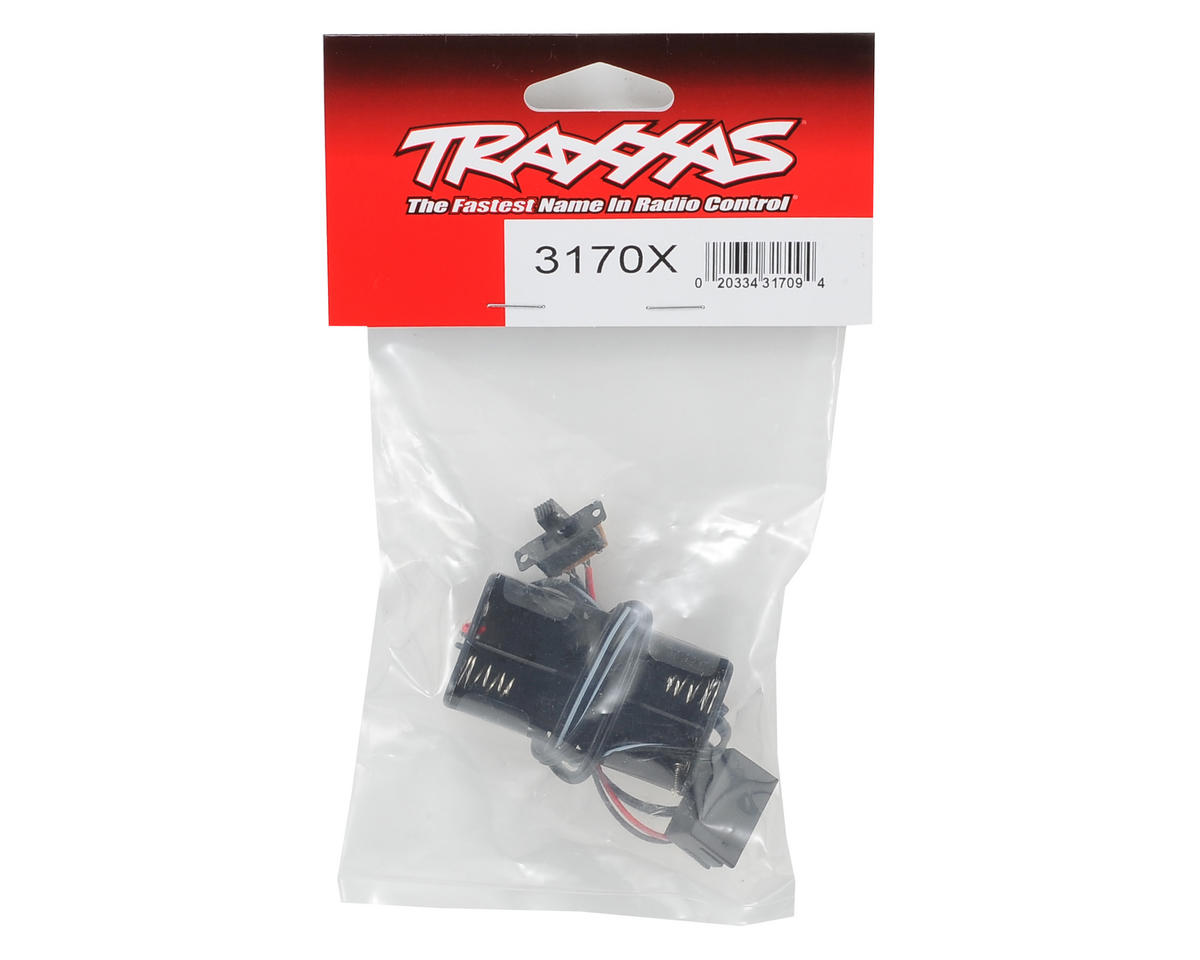 Traxxas 4-Cell Battery Holder w/Switch