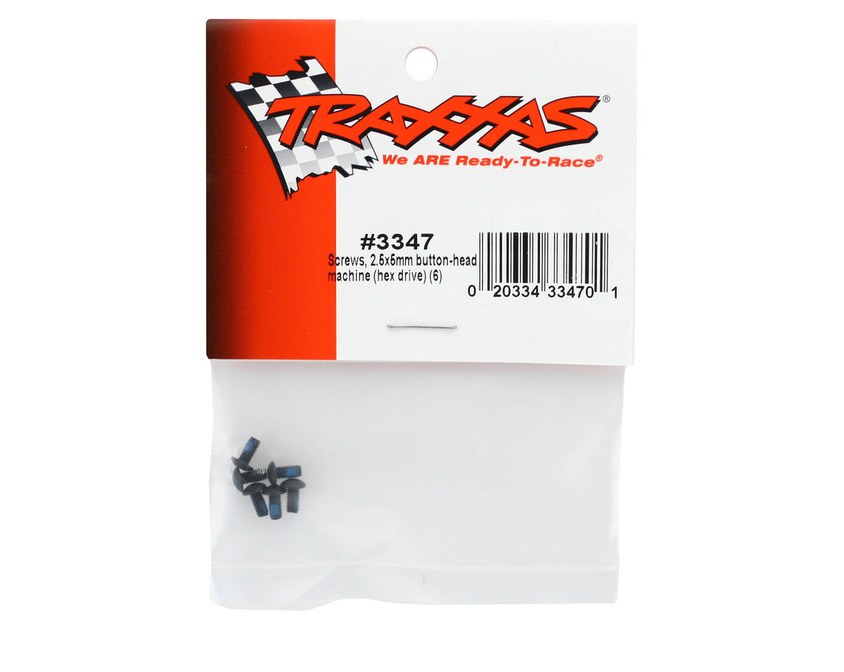 Traxxas 2.5x5mm Button Head Screws (6)