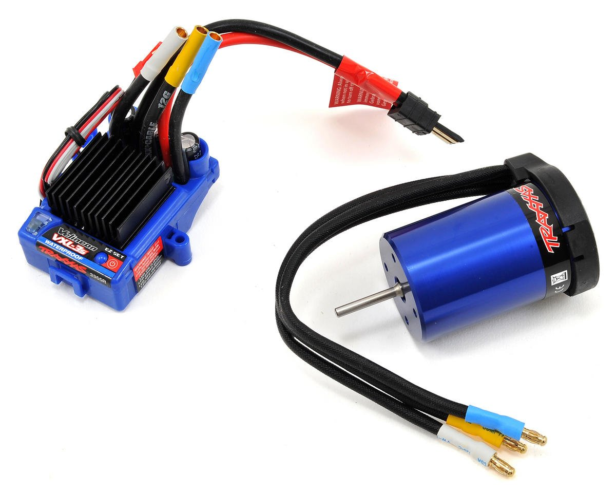 VXL-3S Velineon Brushless Power System Combo (Waterproof) by Traxxas