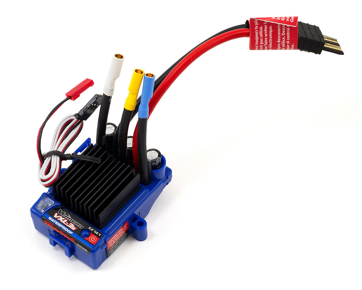 traxxas vxl-3s brushless esc (waterproof) [tra3355r] | cars & trucks -  amain hobbies