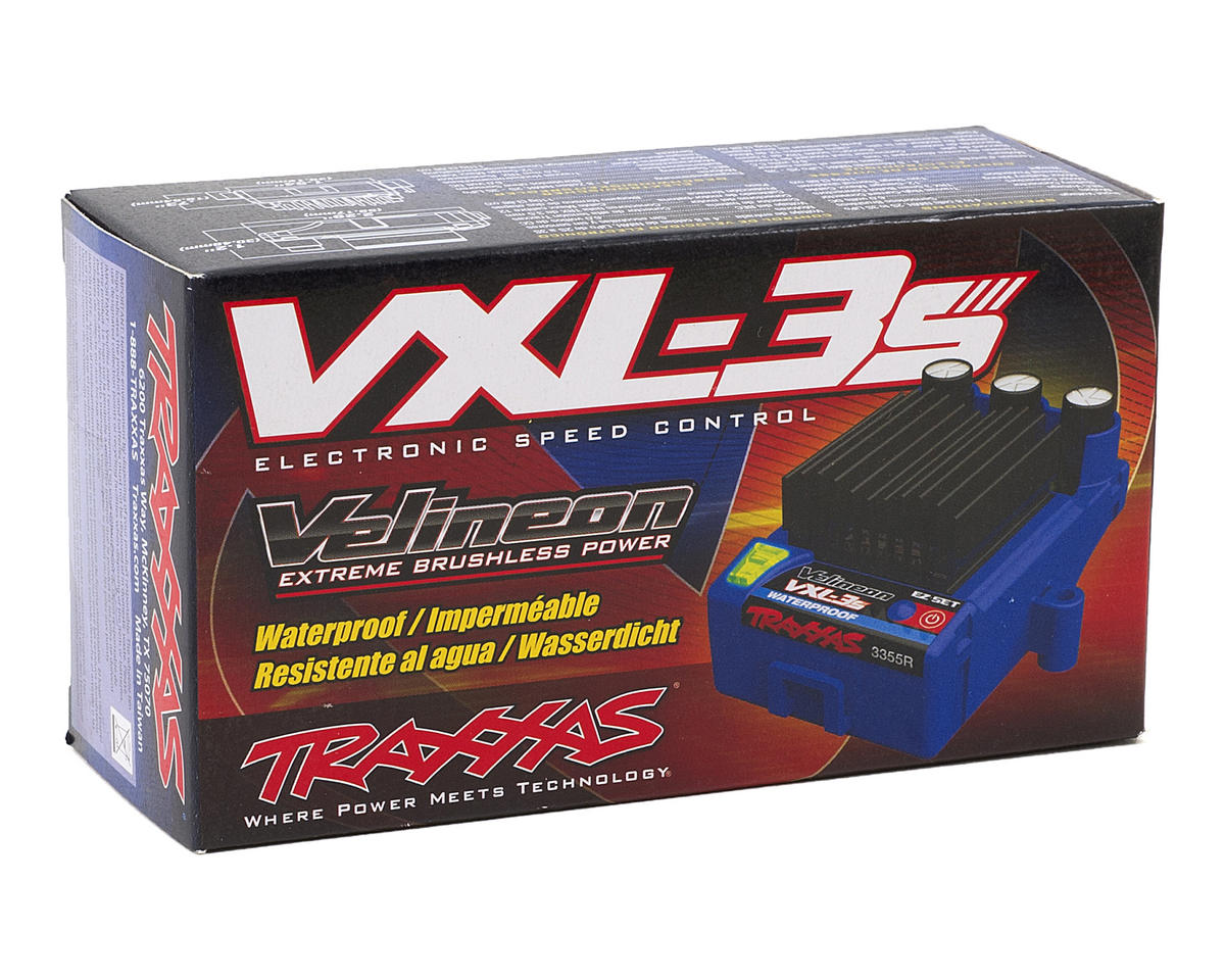 Traxxas VXL-3S Brushless ESC (Waterproof) [TRA3355R] | Cars & Trucks -  AMain Hobbies