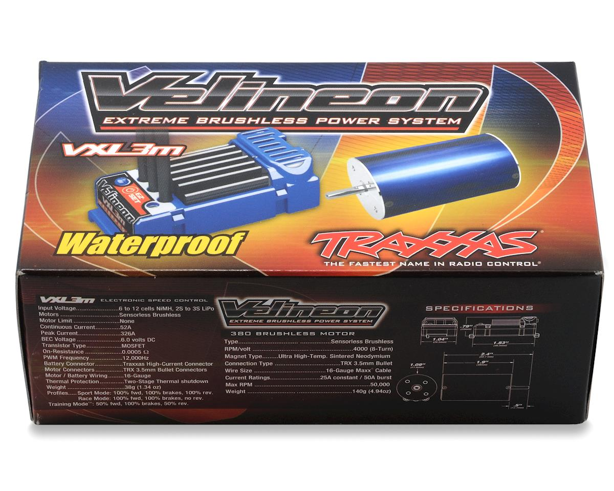 Traxxas Velineon VXL-3M Waterproof 1/16 Scale Brushless Power System