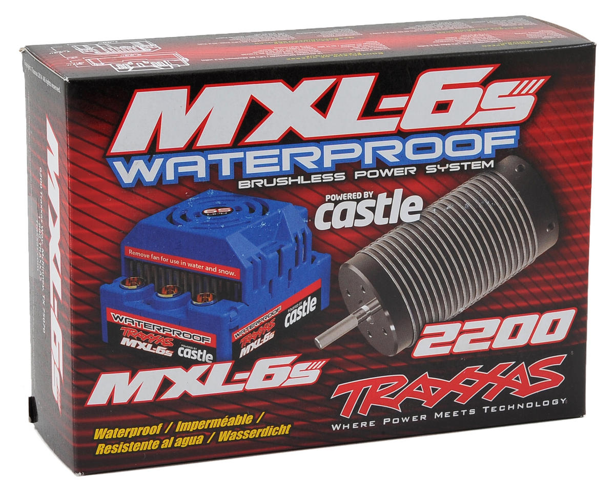 Traxxas MXL-6S Waterproof Brushless Power System