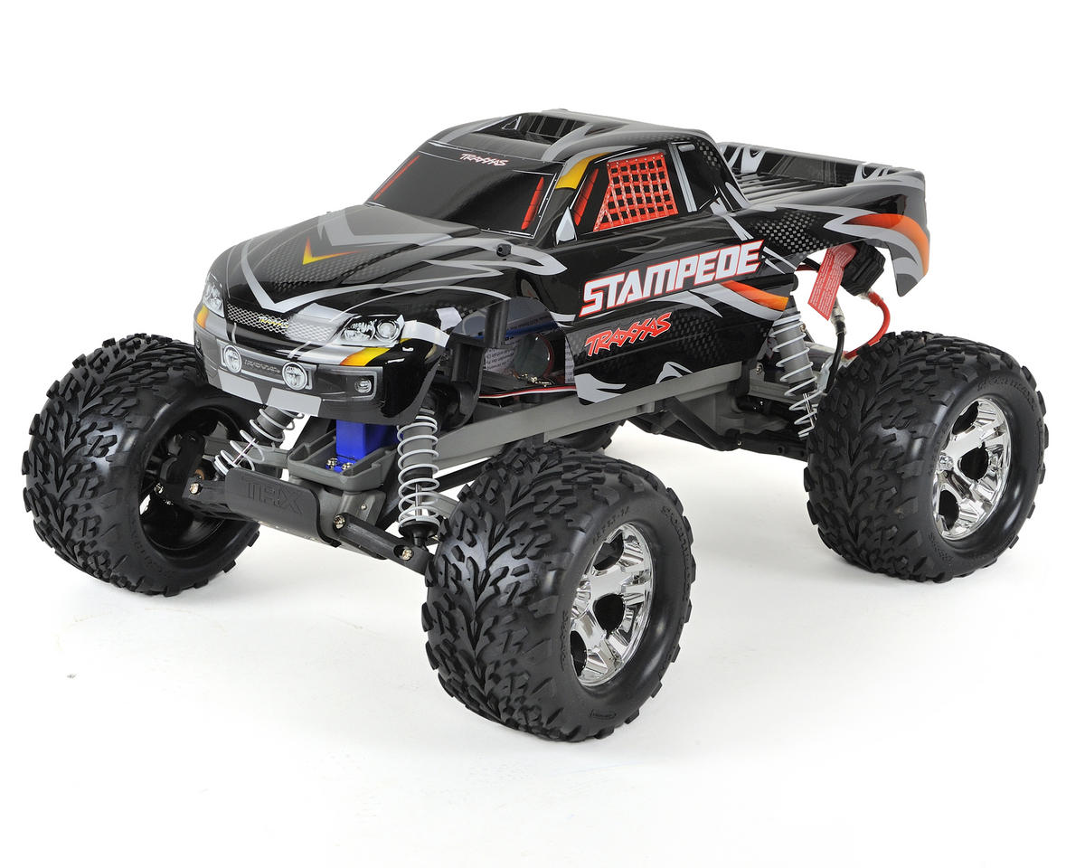 Stampede 1/10 RTR Monster Truck (Black) by Traxxas