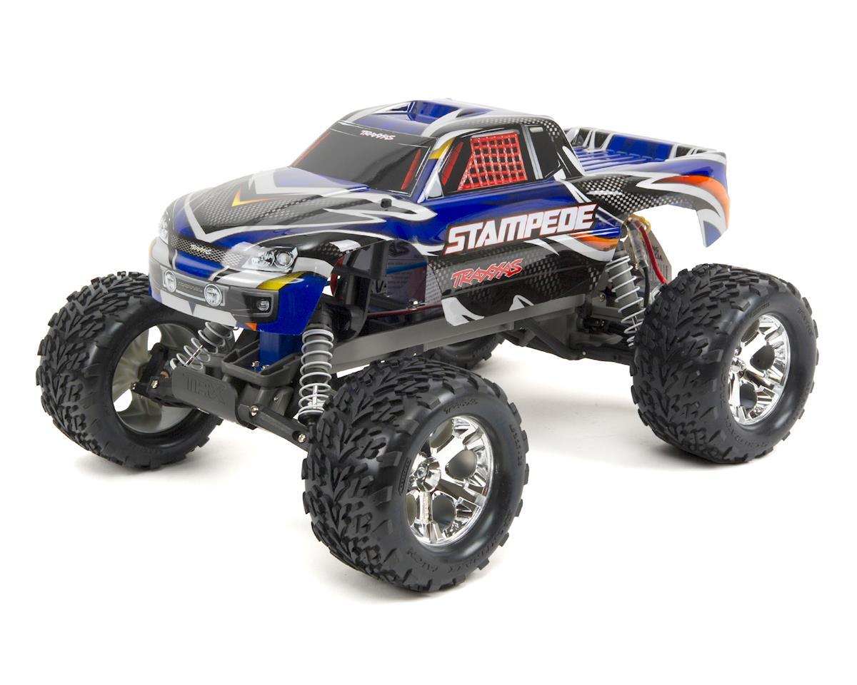 Traxxas Stampede 1/10 RTR Monster Truck (Blue) [TRA36054-1-BLUE] | Cars &  Trucks - HobbyTown