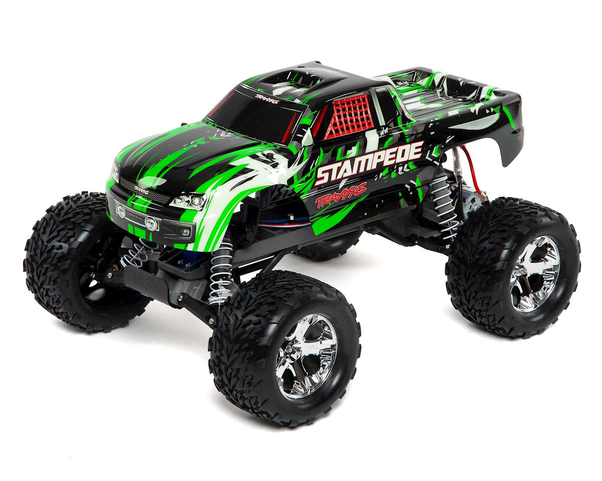 Traxxas Stampede 1/10 RTR Monster Truck (Green)