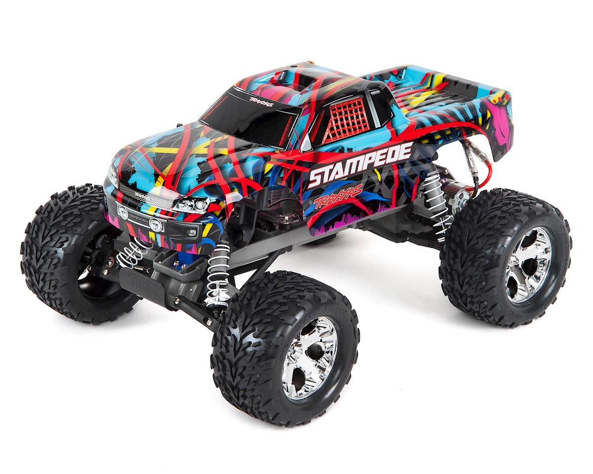 Traxxas Stampede 1 10 RTR Monster Truck Hawaiian Edition TRA36054 HWN