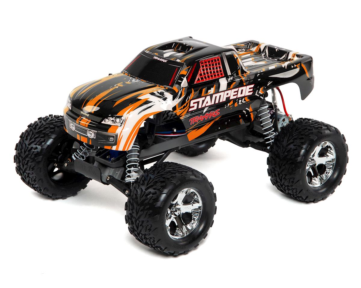 Traxxas Stampede 1/10 RTR Monster Truck (Orange)