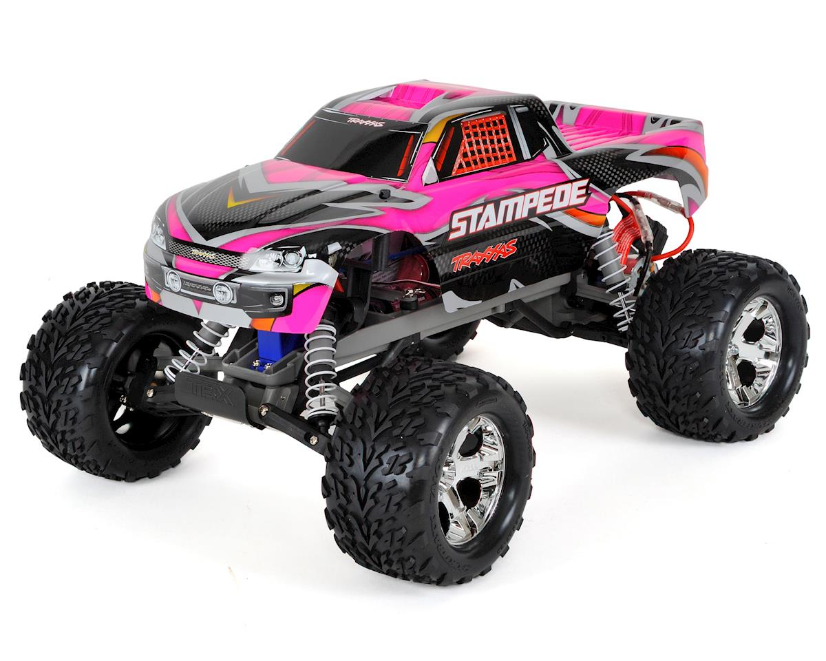 Traxxas Stampede 1/10 RTR Monster Truck (Pink)