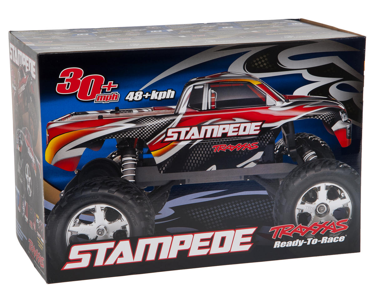 Traxxas Stampede 1/10 RTR Monster Truck (Red)