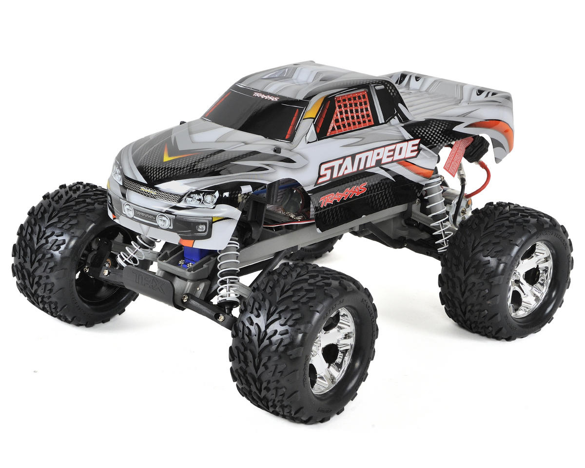 Traxxas Stampede 1/10 RTR Monster Truck (Silver)