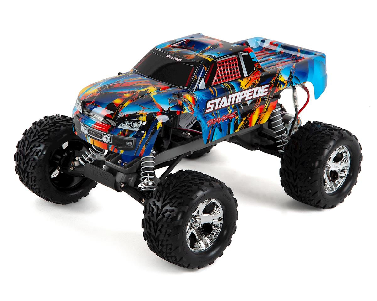 Stampede 1/10 RTR Monster Truck (Rock n Roll) by Traxxas