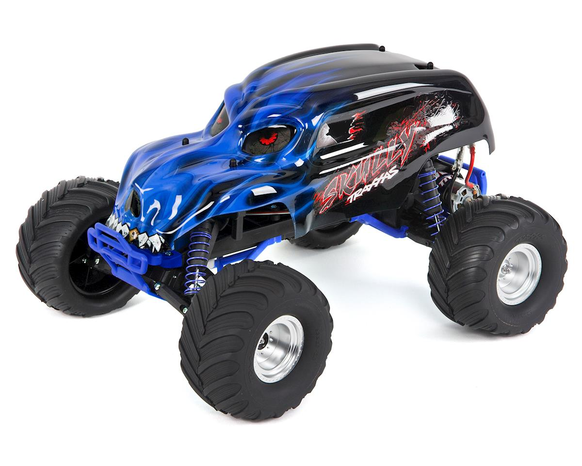 "Traxxas ""Skully"" 1/10 RTR Monster Truck (Blue)"