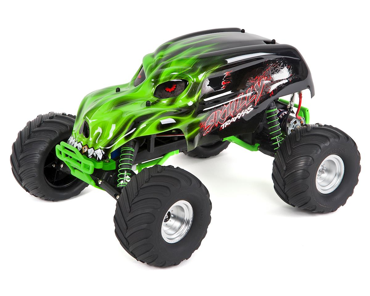 """Skully"" 1/10 RTR Monster Truck (Green) by Traxxas"