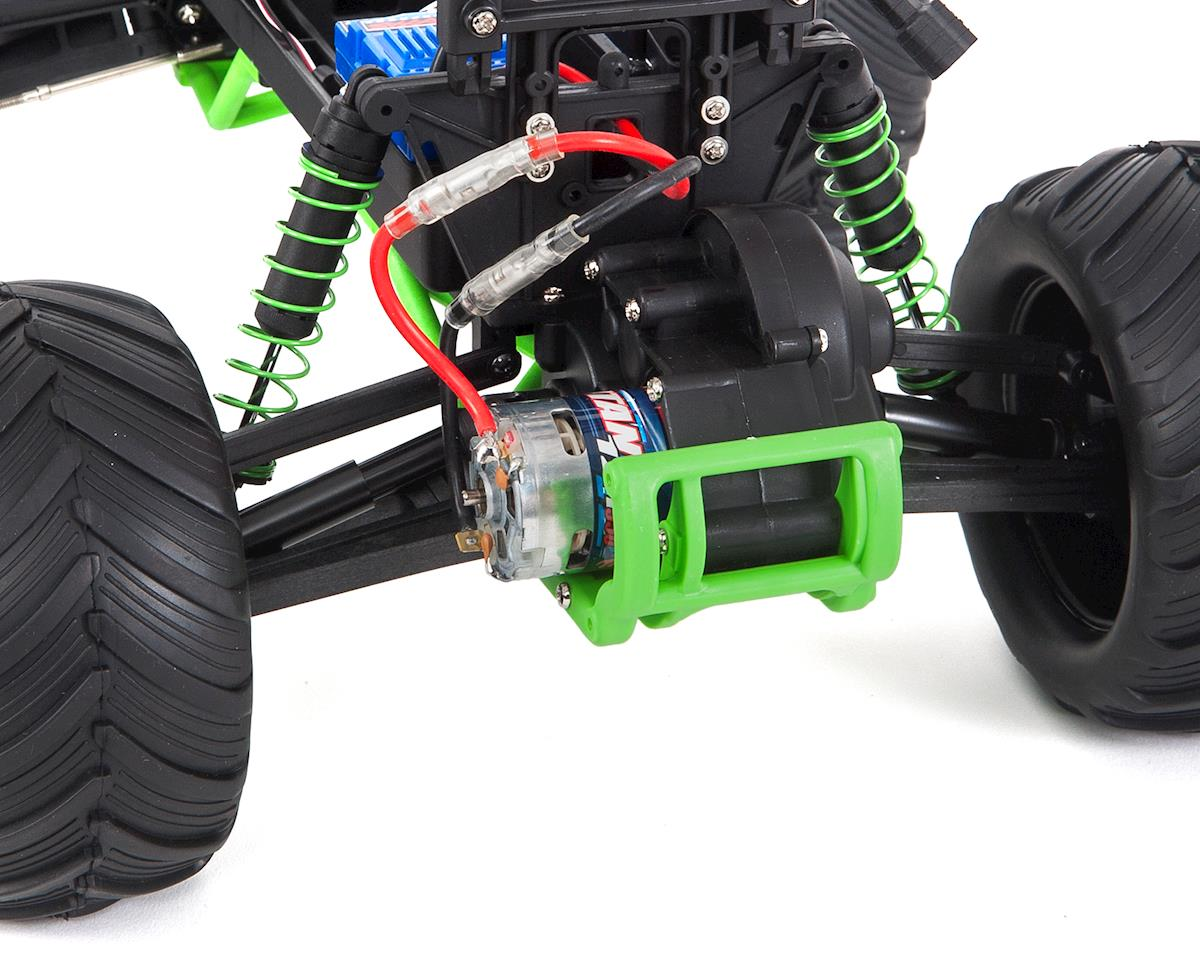 """""""Skully"""" 1/10 RTR Monster Truck (Green) by Traxxas"""