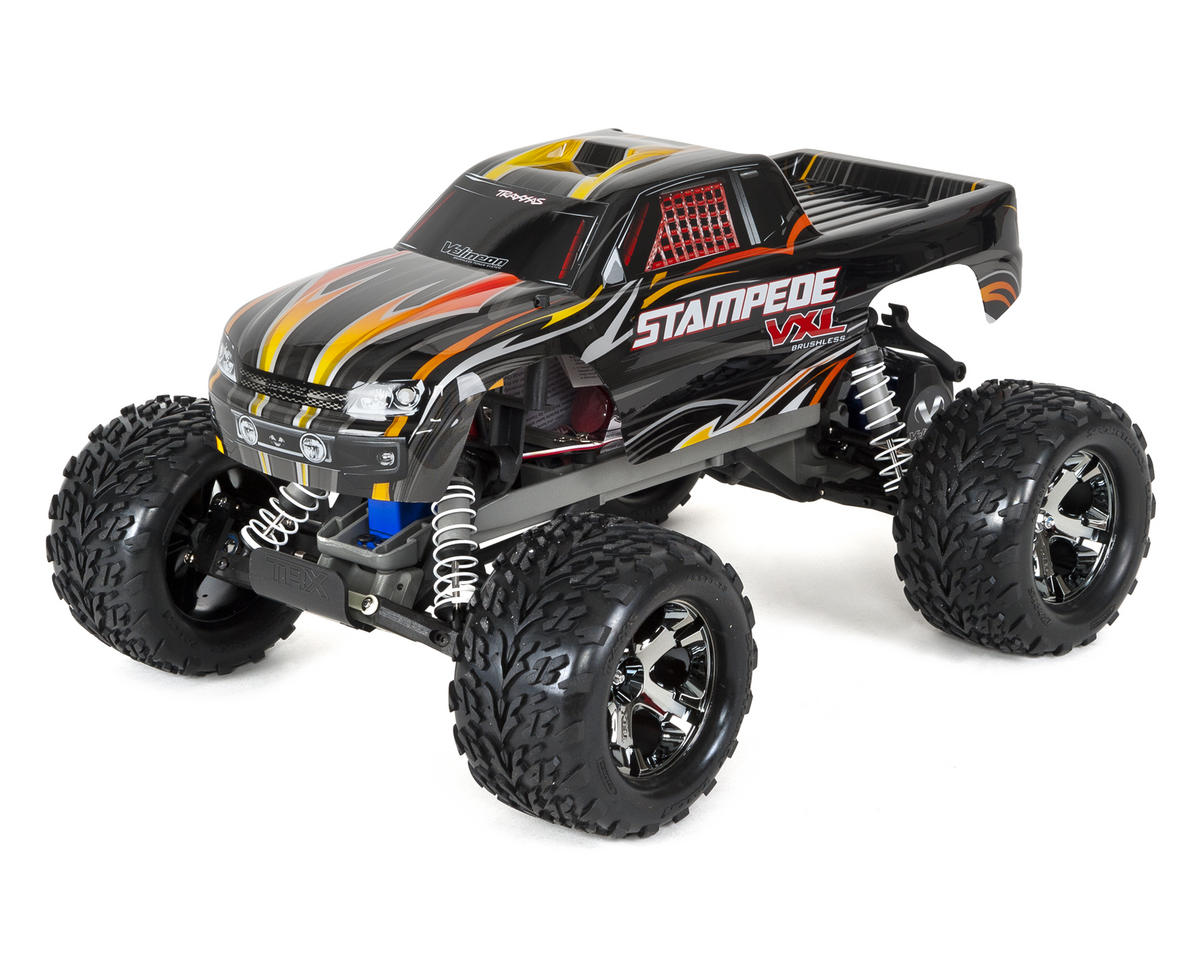 Traxxas Stampede VXL 1/10 RTR 2WD Monster Truck (Black)