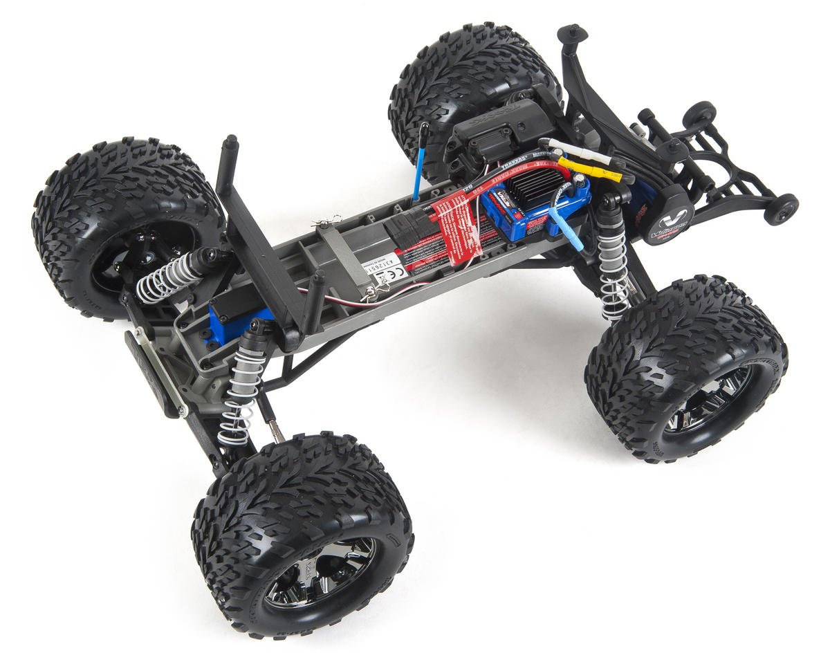 Traxxas Stampede VXL 1/10 RTR 2WD Monster Truck (Silver ...