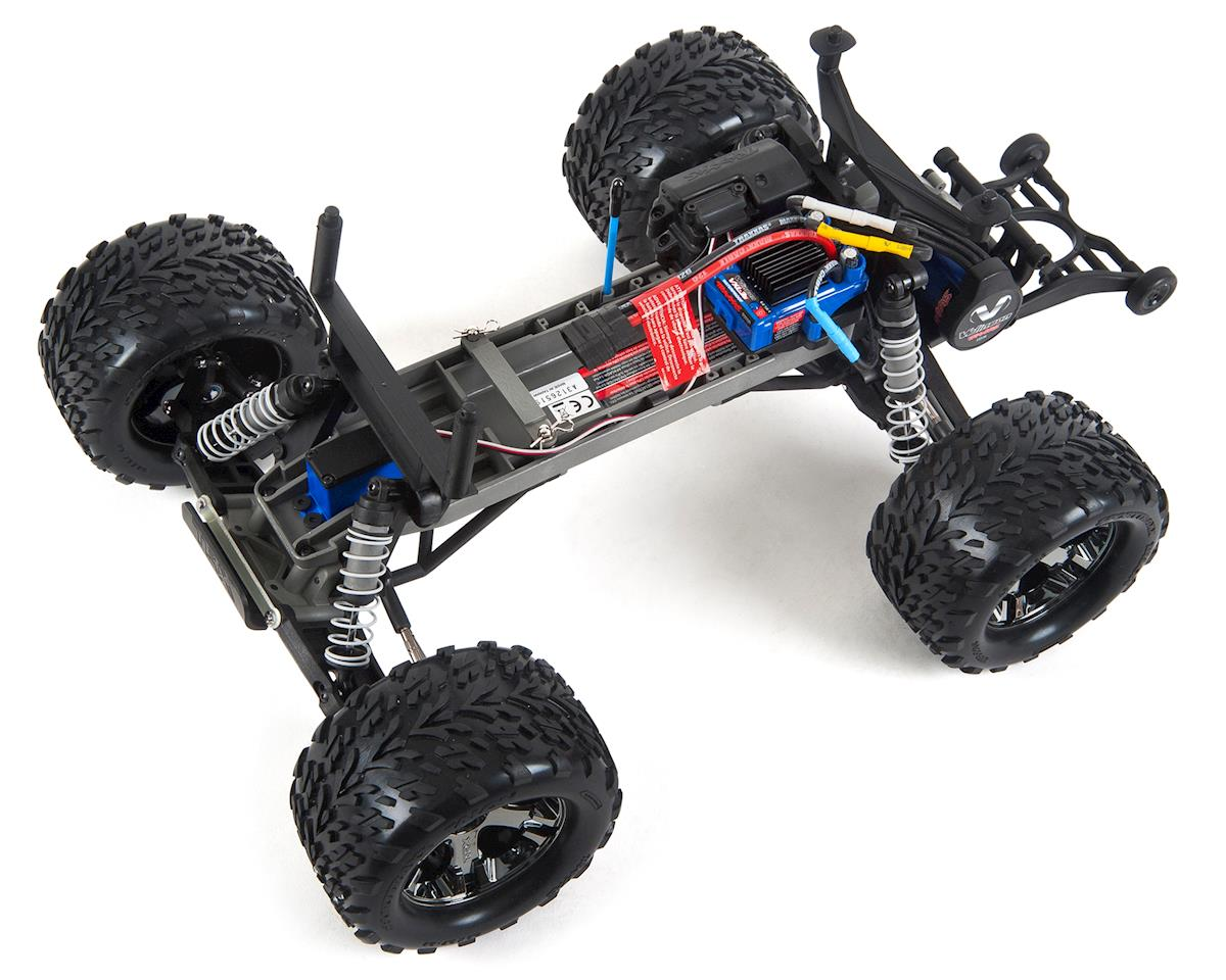Traxxas Stampede Vxl Brushless 1 10 Rtr 2wd Monster Truck Rock N 4x4 Scale 4wd Roll Tra36076 4 Rnrs Cars Trucks Amain Hobbies