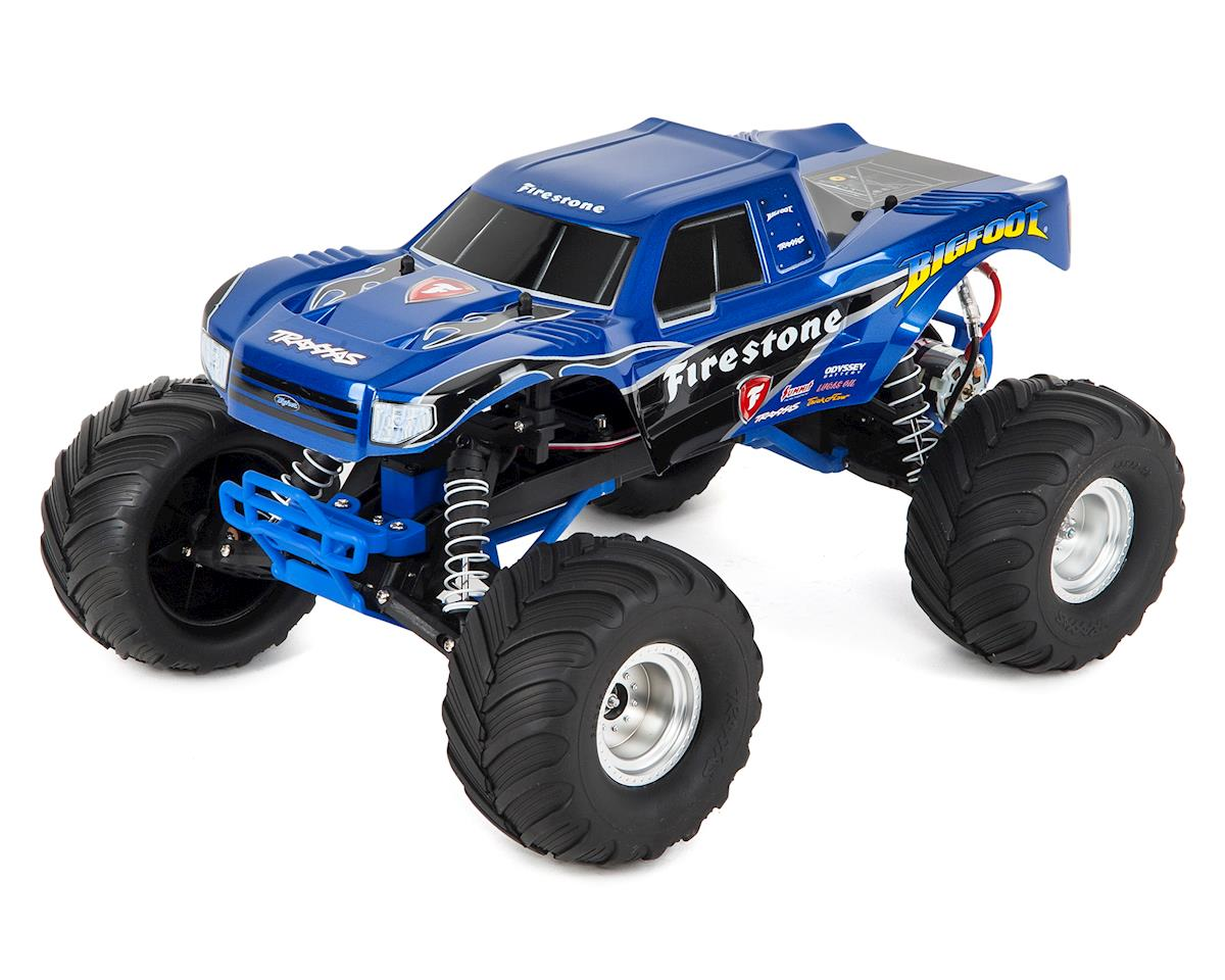 """Bigfoot"" 1/10 RTR Monster Truck (Firestone) by Traxxas"