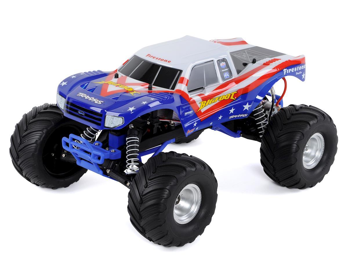 """Traxxas """"Bigfoot"""" 1/10 RTR Monster Truck (Red, White & Blue)"""
