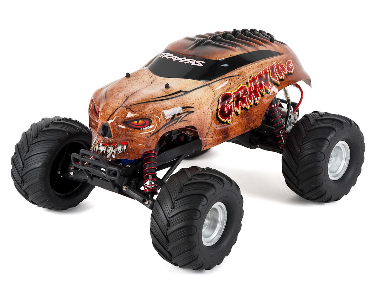 """Craniac"" 1/10 RTR Monster Truck (Bone) by Traxxas"