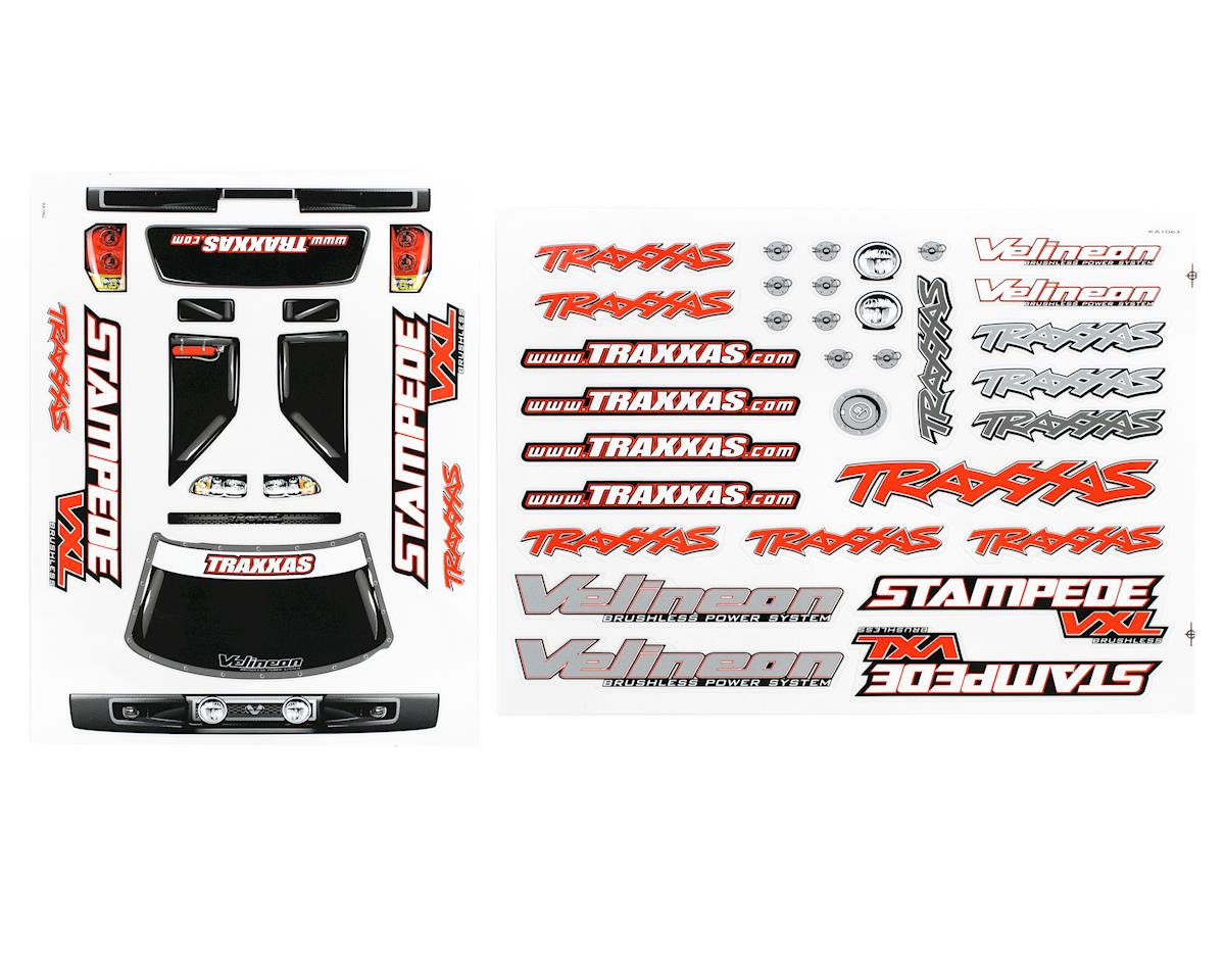 Traxxas Stampede Decal Sheet (2) (VXL)