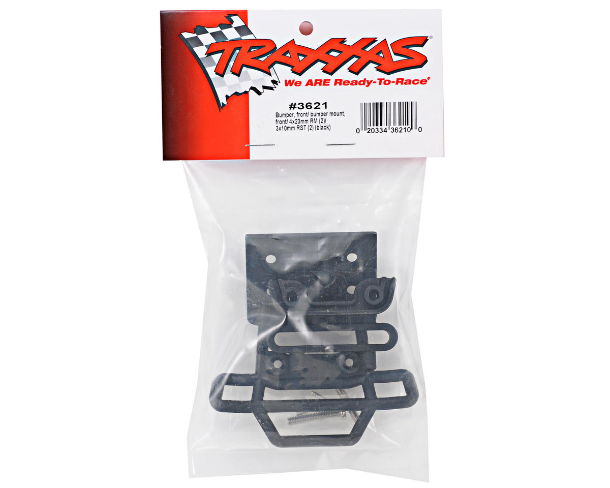 Traxxas Front Bumper & Mount (Black) (Monster Mutt/Maximum Destruction)