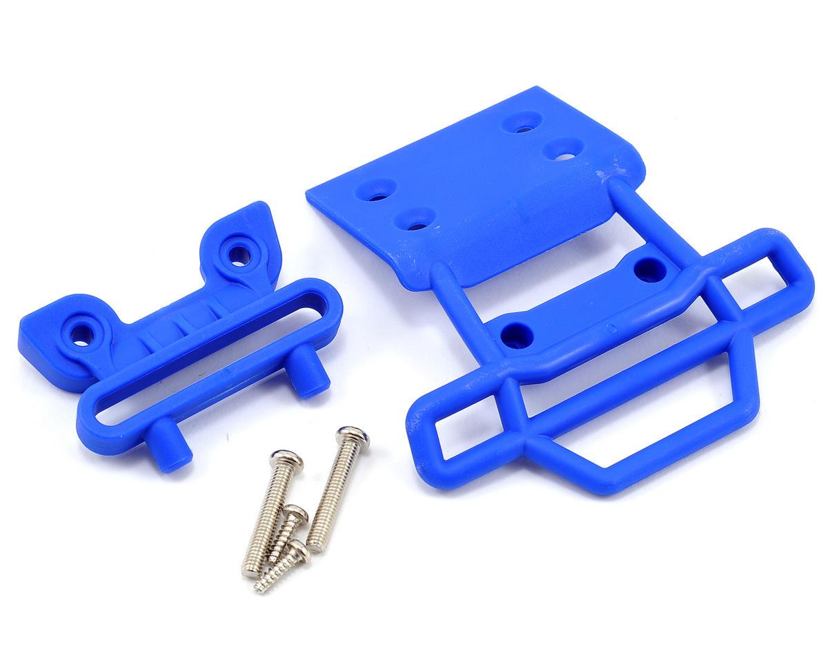Traxxas Front Bumper & Mount (Blue) (Son-uva Digger)
