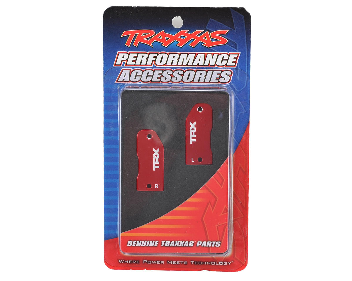 Traxxas L/R Aluminim Caster Blocks 30 Deg (Red)