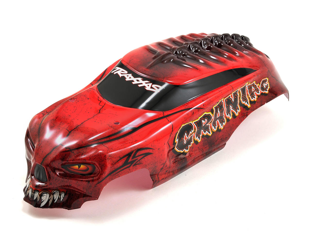 Traxxas Craniac Pre-Painted Body w/Decals (Red)