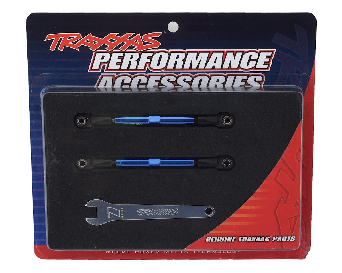 Traxxas Aluminum 49mm Camber Link Turnbuckle (Blue) (2)