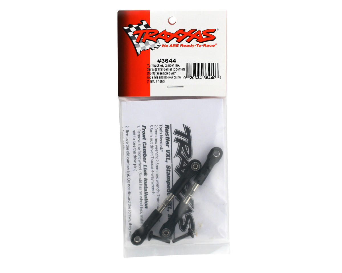 39mm Camber Link Turnbuckle (2) (69mm center to center) by Traxxas