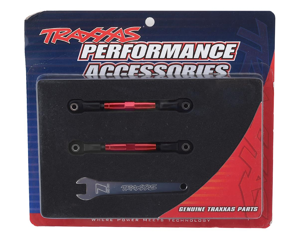 Traxxas Aluminum 39mm Camber Link Turnbuckle (Red) (2)