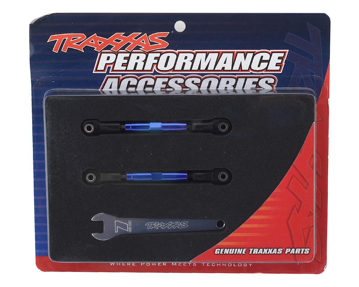 Traxxas Aluminum 39mm Camber Link Turnbuckle (Blue) (2)