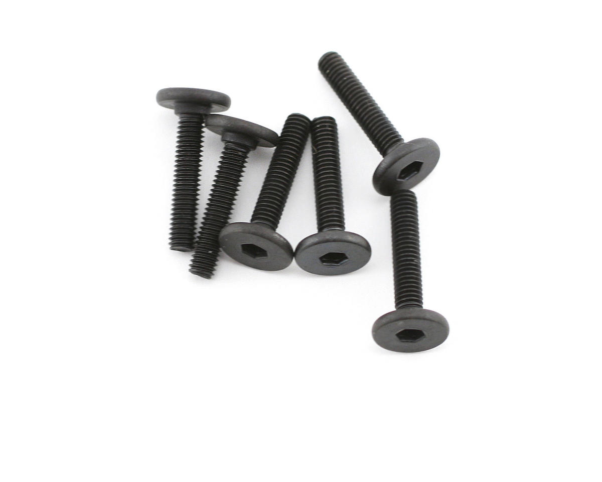 Traxxas 3x15mm Flat Head Screw (6) (VXL)