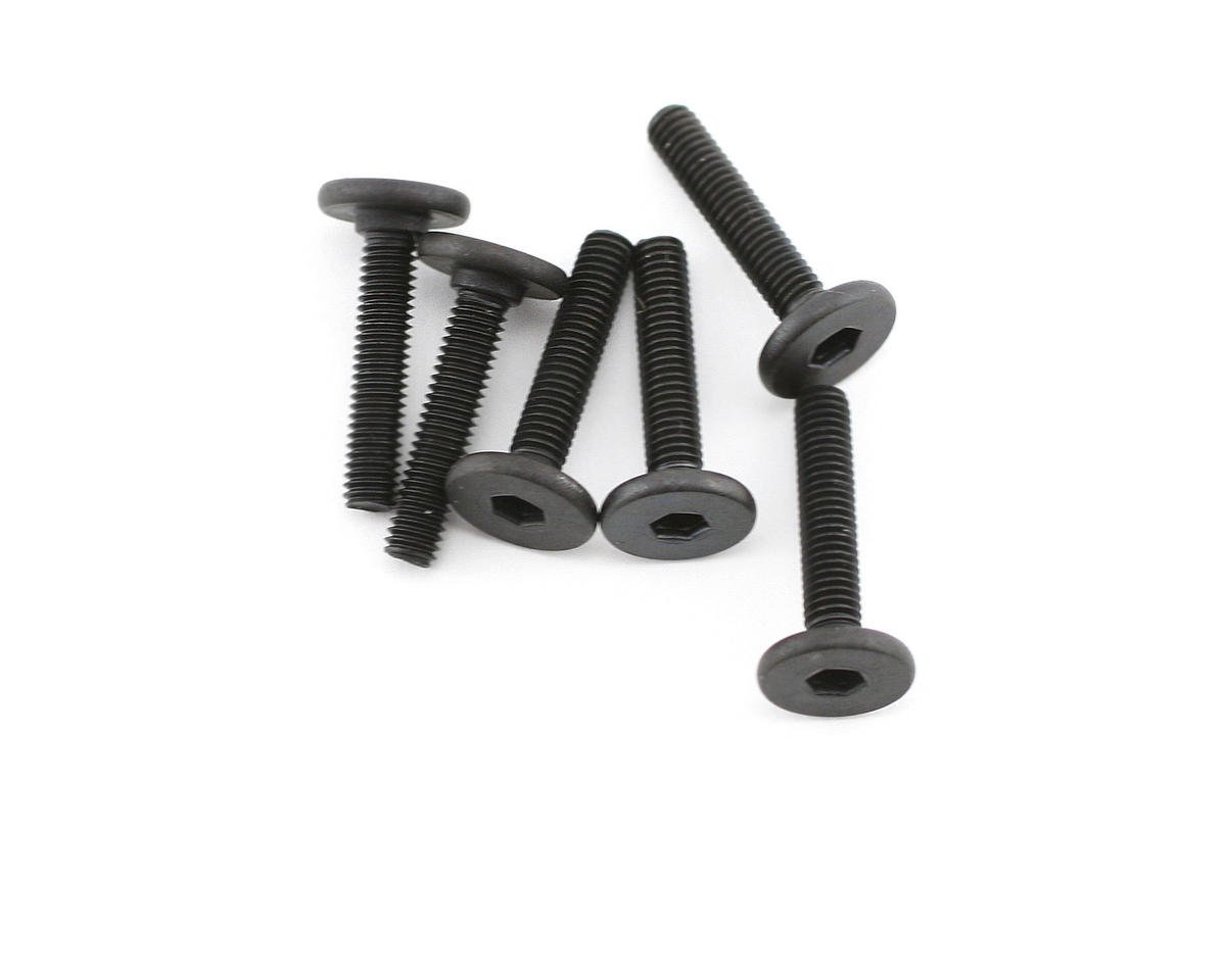 3x15mm Flat Head Screw (6) (VXL) by Traxxas