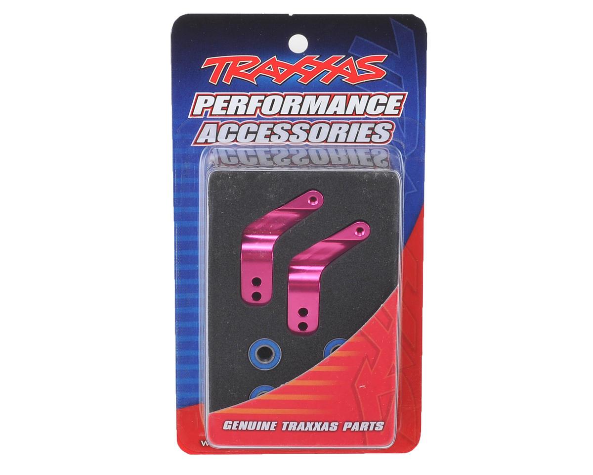 Traxxas Aluminum Stub Axle Carrier (Pink) (2)